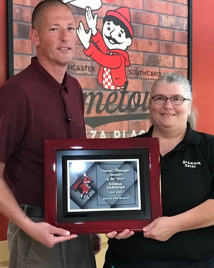 Pizza Inn Genral Manager of The Year: Donna Vanover